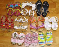 Фирменная летняя обувь Next, некст для девочек 13-16 см