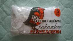 Гольфы капроновые белые детские Польша