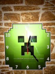 Настенные часы Майнкрафт Minecraft Ниндзяго Железный человек Ironman Marvel