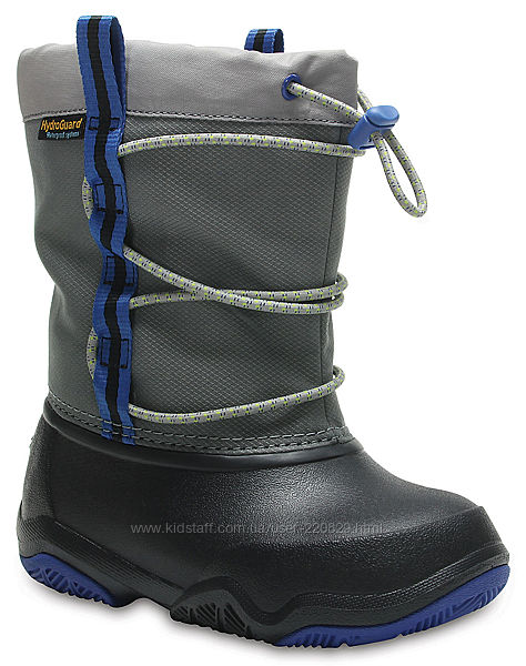 Сапоги зимние детские Crocs Kids Swiftwater Waterproof Boot