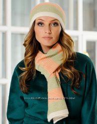 Комплект Venera шапка, шарф, шерсть