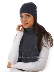 Комплект Venera шапка, шарф, шерсть цвета в ассортименте