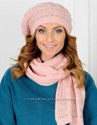 Sale Комплект Venera шапка, шарф, шерсть цвета в ассортименте