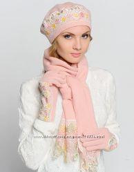 Комплект Venera шапка, шарф, перчатки шерсть цвета в ассортименте