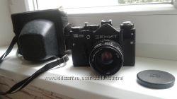 Фотоаппарат Зенит 12 сд  объектив гелиос 44м-4