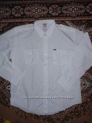 мужские рубашки р44-45 новые и одеты по разу -дешево