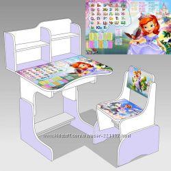 Детская парта со стульчиком трансформер все цвета в наличии