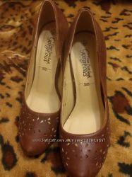 Туфли New look коричневые