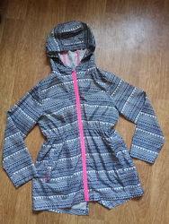 Фирменная легкая ветровка дождевик на девочку 11-12 лет