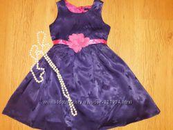 Красивенное платье George 98-104 в идеальном состоянии