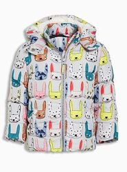Куртка Next Некст еврозима демисезон кролики искусственный мех