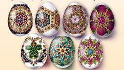 Термонаклейки на пасхальные яйца