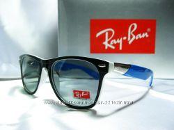 Стильные очки Ray Ban Wayfarer. Линзы Polaroid. unisex