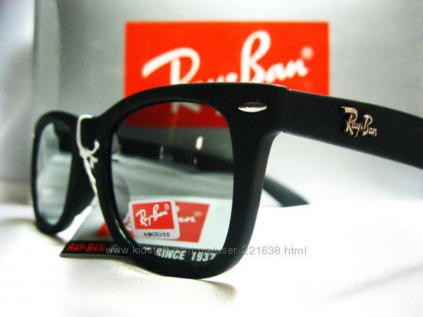 Стильные очки Ray Ban Wayfarer. Линзы Polaroid. unisex e763a19e7facc