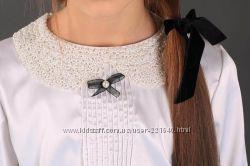 Блузка с бисерным воротничком  MONE
