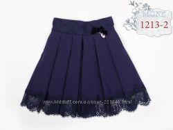 Красивая юбка в школу для девочки  MONE