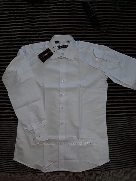 Белая рубашка на рост 152-158