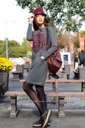 Эффектное платье - свитшот от Solh в наличии 42-44 размер