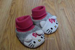 Пинетки Hello kitty 3-6мес
