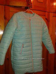 Новая мятная курточка 52 размер Шикарная