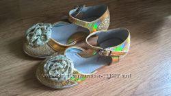 Красивые нарядные туфельки Calorie, р. 23-24, стелька 15,3см