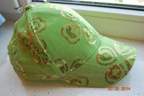 Новые красивые кепки для девочки, 1-3 года