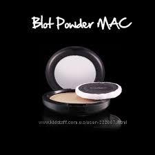 Компактная матирующая пудра M. A. C Blot Powder Pressed