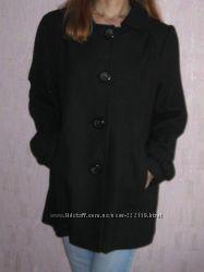 Стильное новое черное пальто Atmosphere 50  шерсти 50  полиестера