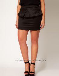 Новая с биркой черная юбка карандаш Asos Curve размер 20 UK наш 54