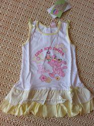 Платье  Disney, футболка FUN&FUN, брюки Circo на 18 мес Новые