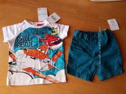 Комплект  C&A футболка и шорты Новый