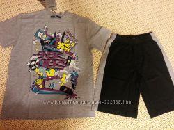 Комплект футболка и шорты ENERGIERS, пайта Soul & Glory, Реглан Gatti 10 ле