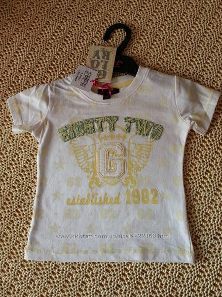 Футболка Soul & Glory, брюки штаны Fanky Diva, джинсы 2-3 года Новая
