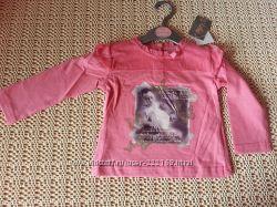 Реглан блузка Minoti 6-12 мес. Новый