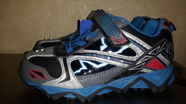 Кроссовки светятся при ходьбе от 14см до 21см
