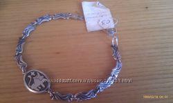Серебряный браслет Телец зодиак женский браслет серебрянный браслет
