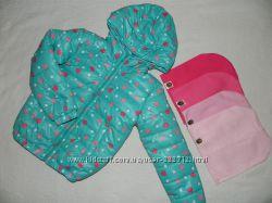 Демикурточки и жилетки Moncler на мальчика  и девочку остатки