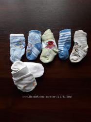 Носки от рождения до 5 лет