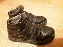 Ботинки кожаные skechers