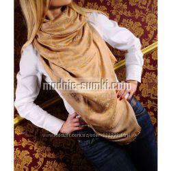 Кашемировый платок Louis Vuitton monogram солнечный