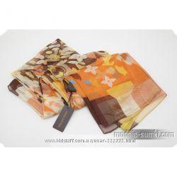 Шелковый платок Луи Виттон красочный
