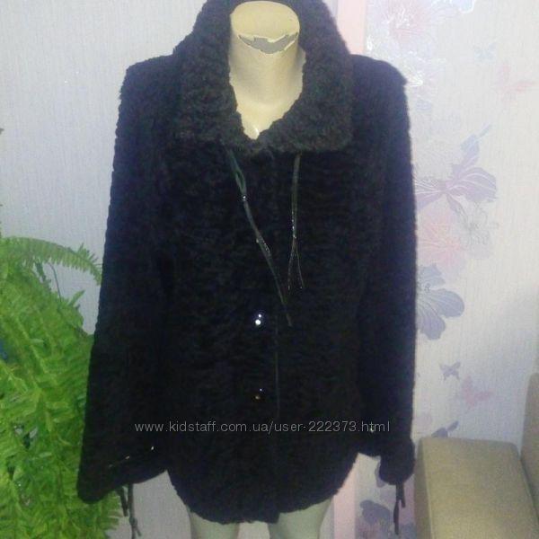 Полушубок-куртка каракуль 48-50