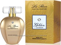 La Rive Swarovski Golden Woman парфюмерная вода, новая