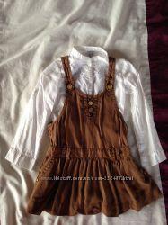 Сарафан и блуза Zara 3-4 года
