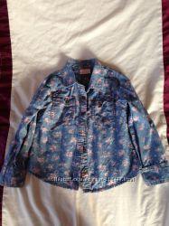 Джинсовая рубашка Next 5-6 лет