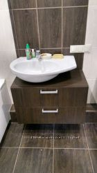 Мебель для ванной комнаты, шкаф-зеркало, тумба под раковину на заказ