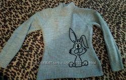 Кофточки женские свитер накидка болеро размер с