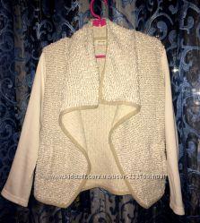 Женская кофта кардиган накидка пиджак