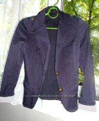 Синий пиджак женский размер с