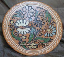 Блюдо з Опішнянської кераміки